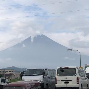 富士登山競争 当日