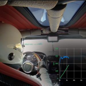 ケーニグセグから世界記録を達成した0-400-0km/hのオンボード映像が公開