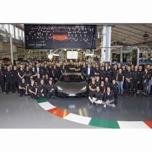 ランボルギーニウラカンがたった5年で10年掛けて作られたガヤルドの総生産台数を上回る