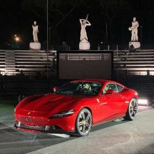 【実車画像あり】時代を超えたエレガンスグランドツアラー「フェラーリローマ」デビュー これ612スカリエッティじゃん