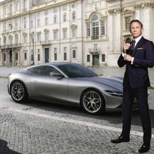 【混ぜるな自然】フェラーリローマはボンドカーだった