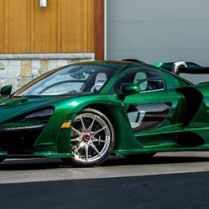 マクラーレンセナ世界第一号車など希少なスーパーカー11台がオークションに出品