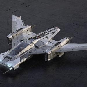 スターウォーズに登場するPorsche Tri-Wing S-91x Pegasus Starfighterが公開