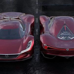 三菱自動車のデザイナーが作ったマツダRX10ヴィジョンロングテールハイパーカーがめちゃくちゃカッコイイ件