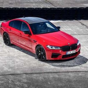 漏れまくっていたNEW BMW M5&M5コンペティションが世界初公開