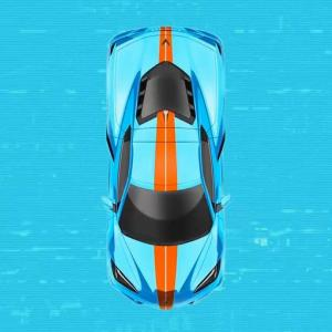 2021年モデルのコルベットC8からレーシングストライプが追加されたぞ!これでガルフカラーも再現可能に! ほか