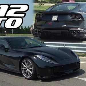 850馬力のフェラーリ812GTOが再びマラネロで目撃される&今週末にフォードGTの新型発表か