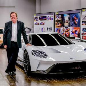 フォードGTデザイナーのフォードGTが販売