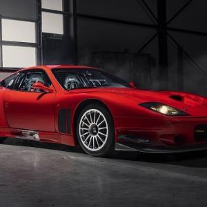 ほぼレーシングカーのフェラーリ575GTCストラダーレが販売