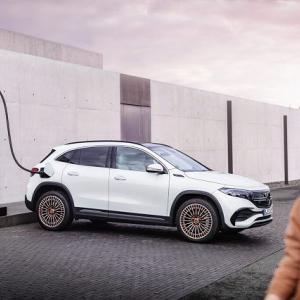 【500万切ったぞ!】GLAの電気自動車版でEQブランドのエントリーモデルとなるメルセデスベンツEQAデビュー