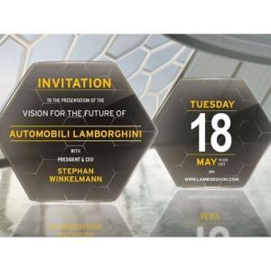 5月18日にランボルギーニから新モデルをデジタルローンチすると発表