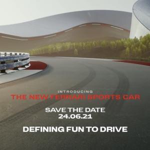 V6ハイブリッドのフェラーリ新型スポーツカーが6月24日ワールドプレミア決定