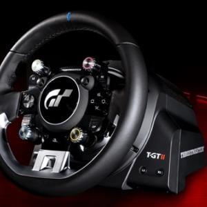 GT7向けPS5対応の最新ハンコンThrustmaster T-GTIIが約10万円で予約開始