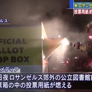 大統領選の投票箱に放火 投票用紙約100人分燃える