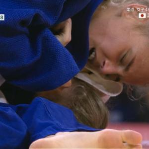 モデル柔道家、ビロディド、涙の銅メダル 20歳世界女王がウクライナ女子初の快挙