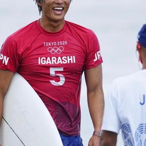 「サーフィン男子」五十嵐カノアが銀メダル!世界2位に敗れ初代王者ならず【東京五輪】