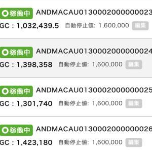 5月19日〜20日 +20,104円 バカラオートシステム収益