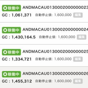 5月21日〜23日 +32,529円 バカラオートシステム収益