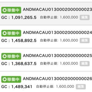 5月24日〜26日 +31,295円 バカラオートシステム収益