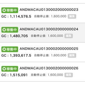 5月27日〜28日 +21,307円 バカラオートシステム収益