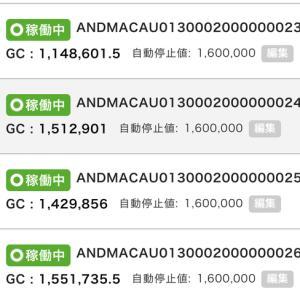 5月29日〜6月1日 +33,564円 バカラオートシステム収益