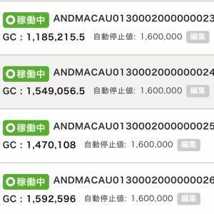 6月2日〜4日 +33,725円 バカラオートシステム収益