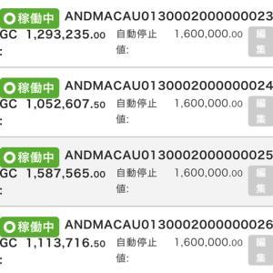 6月13日〜15日 +226,584円 バカラオートシステム収益
