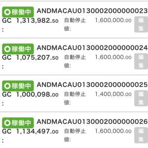 6月16日〜18日 +12,175円 バカラオートシステム収益