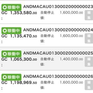 6月23日〜24日 +16,145円 バカラオートシステム収益