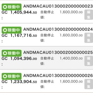 6月25日〜27日 +36,152円 バカラオートシステム収益