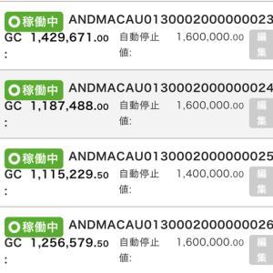 6月28日〜29日 +21,703円 バカラオートシステム収益