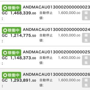 7月2日〜7月3日 +16,934円 バカラオートシステム収益
