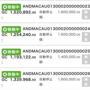 7月7日〜7月9日 +25,352円 バカラオートシステム収益