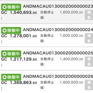 7月10日〜7月12日 +22,881円 バカラオートシステム収益