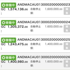 7月13日〜7月15日 +26,849円 バカラオートシステム収益