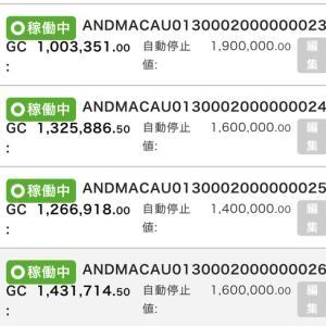 7月16日〜7月18日 +23,749円 バカラオートシステム収益