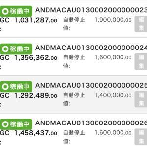 7月19日〜7月21日 +28,167円 バカラオートシステム収益