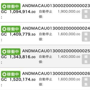 7月25日〜7月27日 +28,850円 バカラオートシステム収益