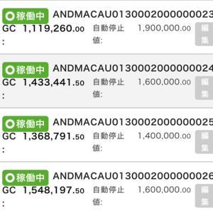 7月28日〜7月31日 +27,313円 バカラオートシステム収益