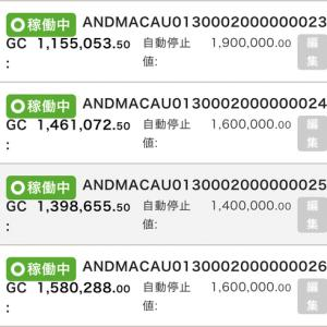 8月1日〜8月4日 +35,395円 バカラオートシステム収益