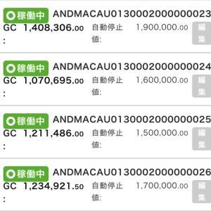 8月22日〜8月28日 +59,664円 バカラオートシステム収益
