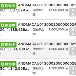 9月5日〜9月11日 +62,890円 バカラオートシステム収益