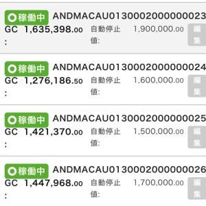 9月19日〜9月15日 +67,670円 バカラオートシステム収益