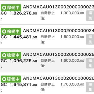 10月10日〜10月16日 +67,063円 バカラオートシステム収益