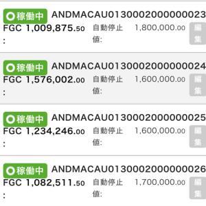 10月24日〜10月31日 +55,743円 バカラオートシステム収益