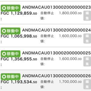 11月7日〜11月13日 +71,426円 バカラオートシステム収益