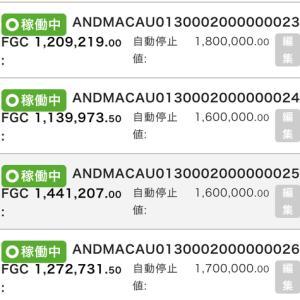 11月14日〜11月20日 +69,161円 バカラオートシステム収益