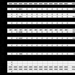 セミリタイア生活一か月目の家計簿予算~年間収支予定は250万円~