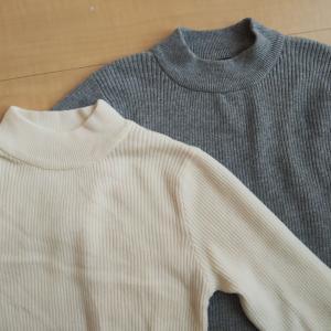 ハイネックセーター届きました&ゴールドカードに切替