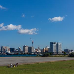 10月20日 秋晴れ 散歩日和【緑の島&大沼公園】